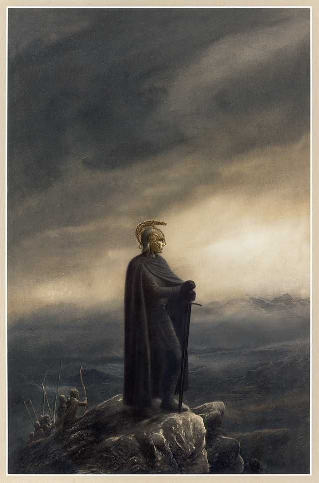 And now, the story of J.R.R. Tolkien's 'The Silmarillion,' told entirely in pictures.   J.R.R. Tolkien in 2019   Alan lee, Tolkien, Tolkien books