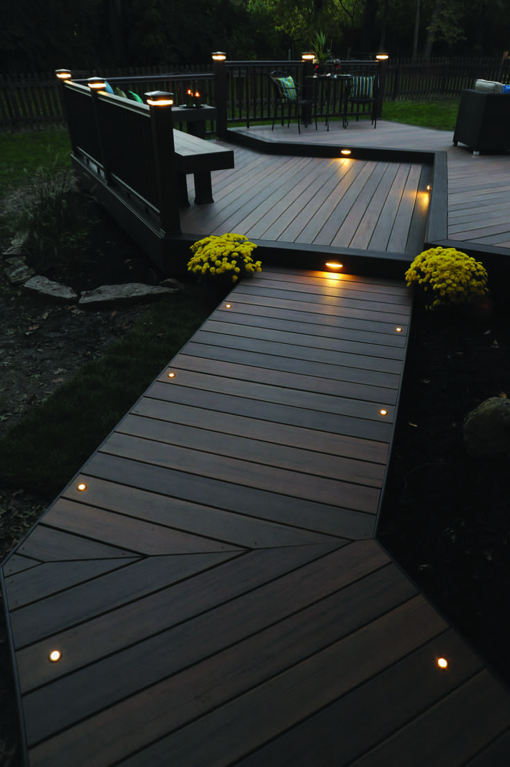 15 Awesome Deck Lighting Ideas To Lighten Up Your Deck Backyard
