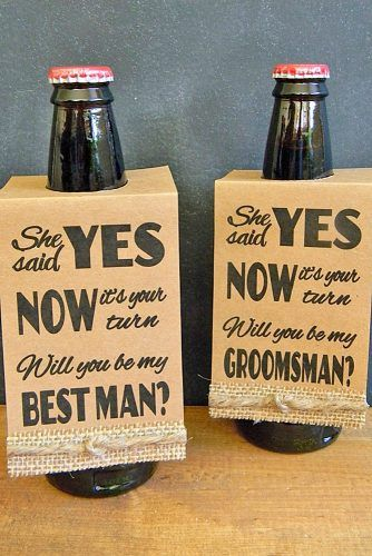 "15 Groomsmen Proposal Ideas ""Will You Be My Groomsman"""