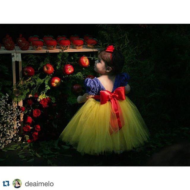 @cupcakesdabianca - Nossa princesa linda!!! Branca de neve tão linda que parecia…
