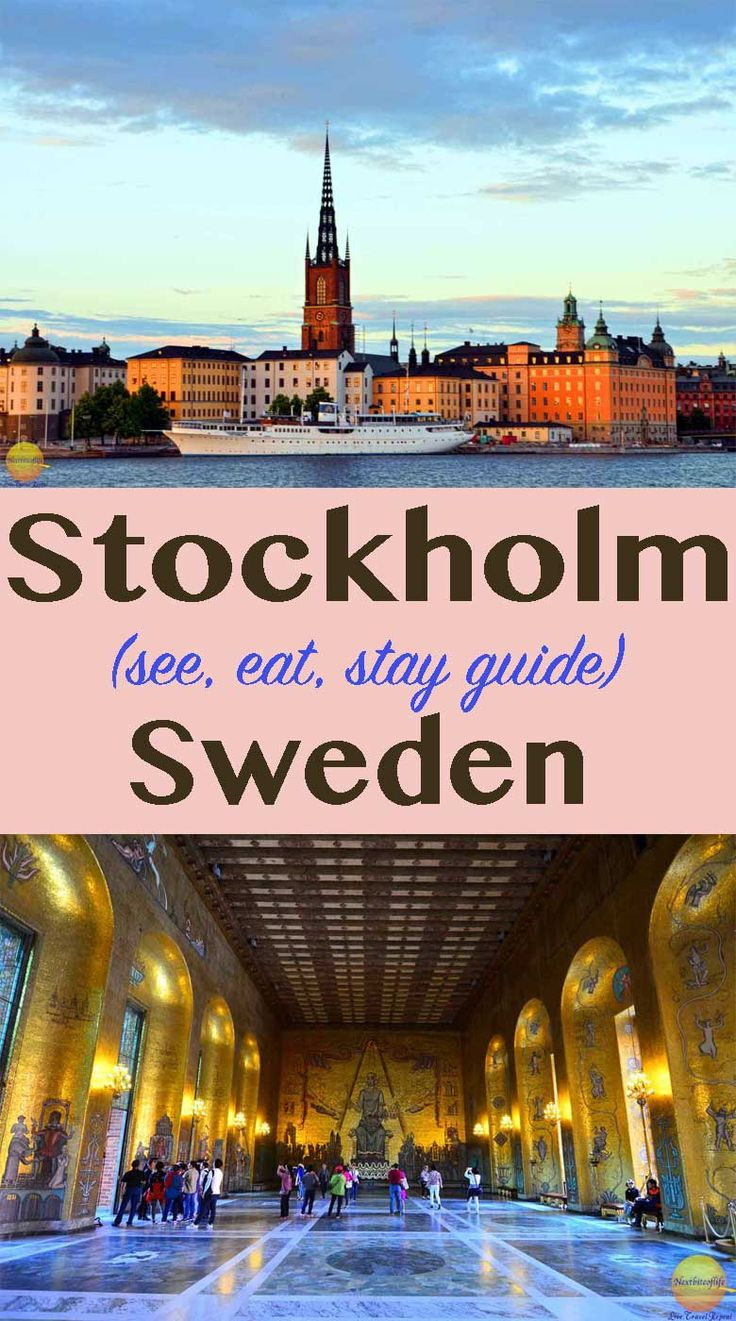 What to see in Stockholm | What to do in Stockholm | What to eat in Stockholm | Stockholm sightseeing guide | #Stockholm #Sweden #Vasa #ABBA #Nordicmuseum #Gamlastan
