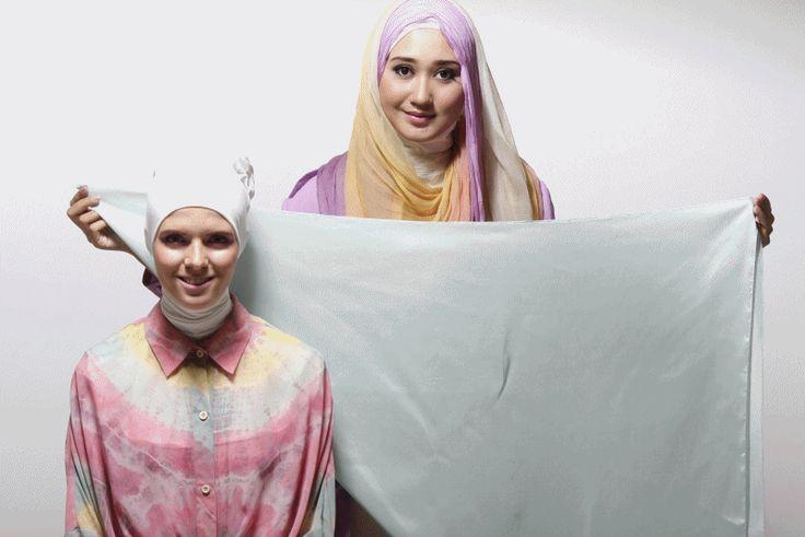 Tutorial Hijab Dian Pelangi Style