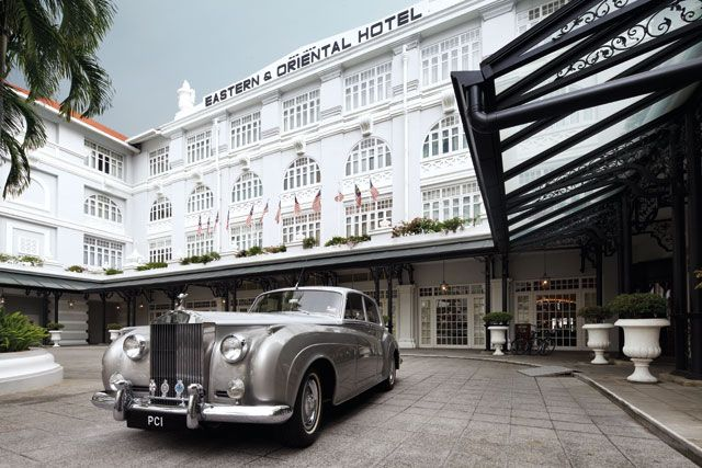 Tradition is a guide: E&O hotel in Penang State, Malaysia