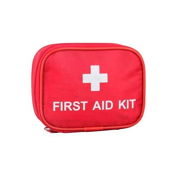 First Aid Kit, førstehjelp til hund og katt i bilen. Så er du beredt om uhellet er ute. Inneholder det du trenger. Også en flåttfjerner.