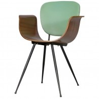 Decoratum - Real Dorica - Pair of Italian Bent Wood Chairs by Real Dorica, Bolognia,