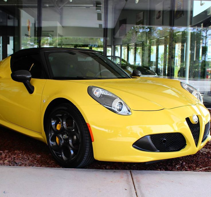 Alfa Romeo 4C Spider #italianmade #sportscar #italia