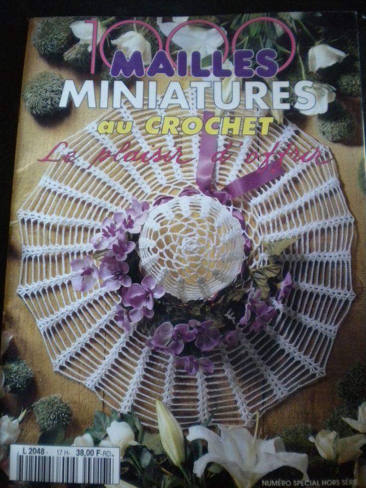 Catalogue 1000 mailles miniatures au crochet : Matériel Crochet par l-atelier-de-nanie-tricot