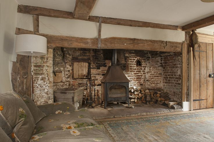 The Heavily Beamed 16th Century Drawing Room Is Home To A