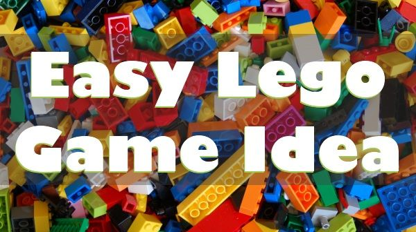 Lego challenge game. Draw a card: make something to wear, an animal, a room in the house, favorite food, etc.