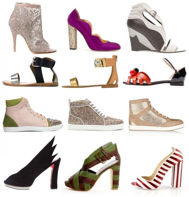 Les plus belles chaussures de l'été 2013