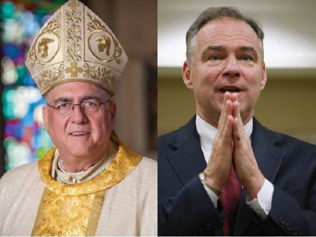 """A leading American prelate has urged voters to """"be wary"""" of Democratic vice-presidential candidate Tim Kaine, a """"cafeteria Catholic"""" who picks and chooses from Church teaching according to its political expediency."""