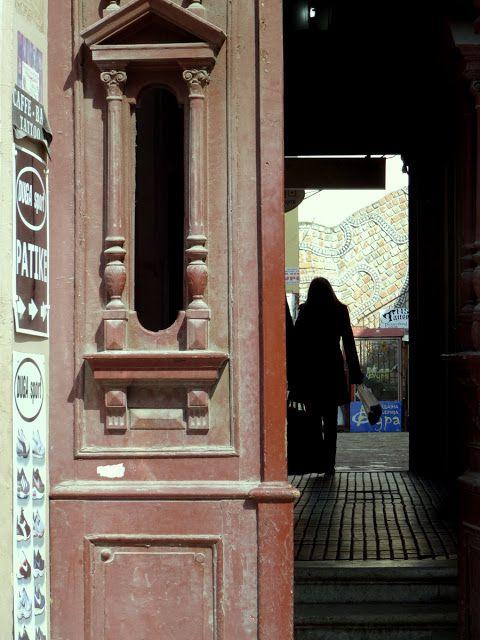 Beautiful door detail in Novi Sad, Serbia