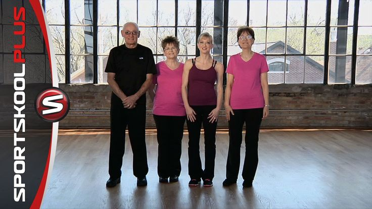 Cardio Workout for Seniors with Fitness Coach Angie Miller | Free ...