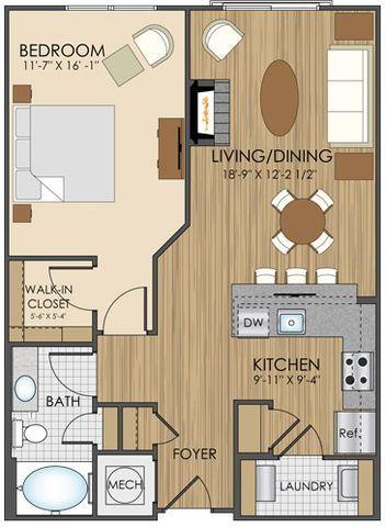 Luxury Apartment Floor Plans in Gaithersburg, MD -…