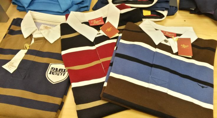 RM Williams rubgy shirts are hardwearing, beautifully-made, and available in a range of great colour combinations. Just right for the rugby fan - whether he's a league or a union man! From £69.95-79.95 from Luck of Louth.