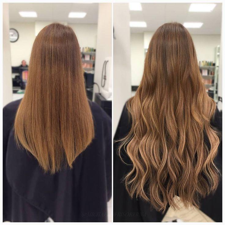 En fantastisk hårförlängning gjord med hairtalk-extensions 😍 #hairtalk #hairextensions #longhair