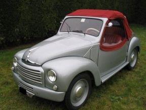 1953 Fiat 500C Topolino cabriolet