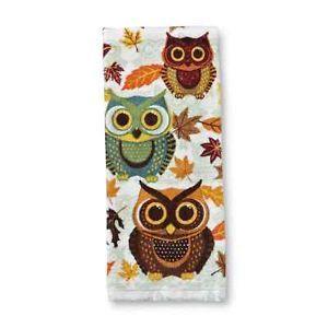 Owl Kitchen Decor Owl And Fall Autumn Leaves Kitchen