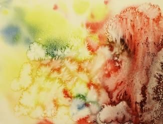 Buy paintings - e.scape , Abstract Paintings in Atgom Arts