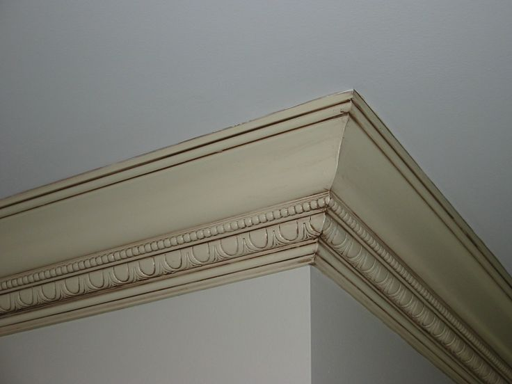 Glazed Crown Molding : Glazed crown molding for entire home only thing missing
