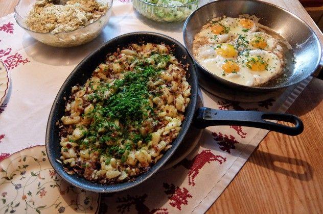 Tiroler Gröstl - das Rezept zum Nachkochen
