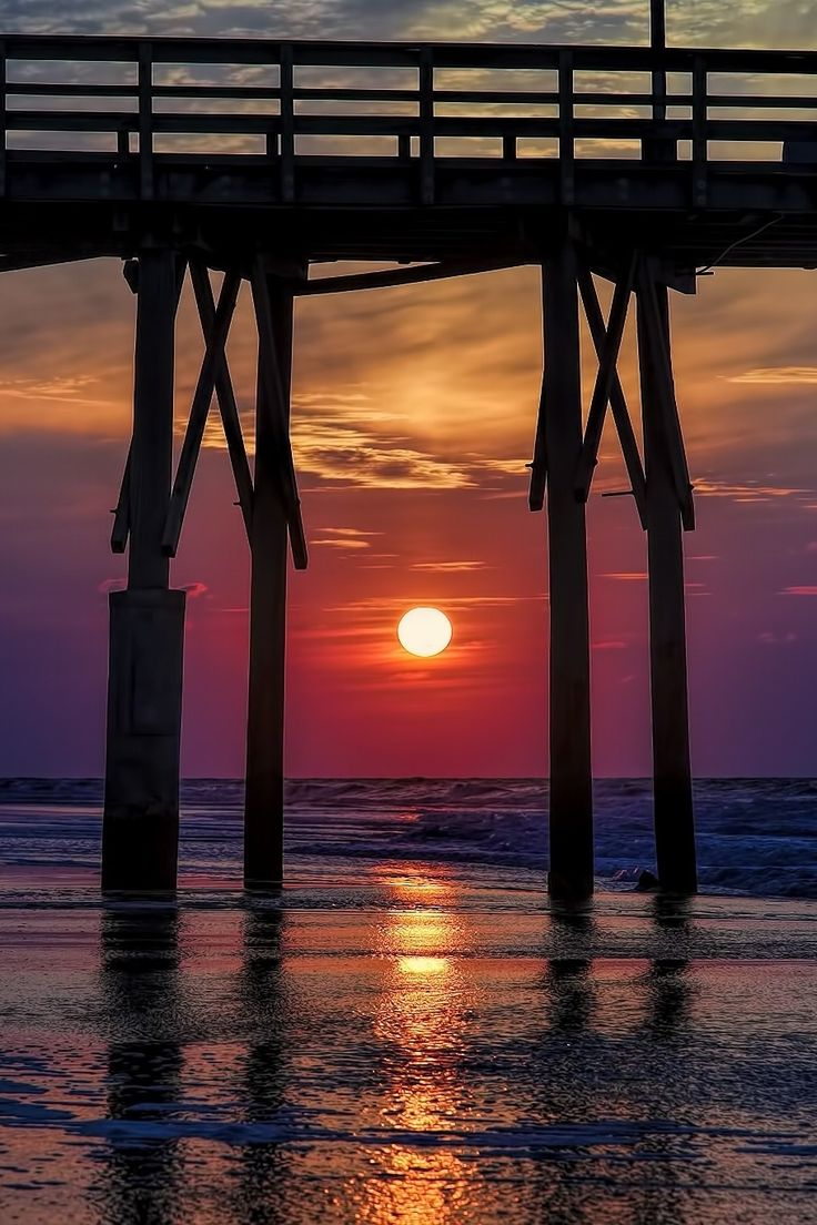 Sunrise at North Topsail Beach Sunrise, North Carolina, United States