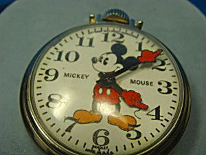 1960s Bradley -- Mickey Mouse pocket watch