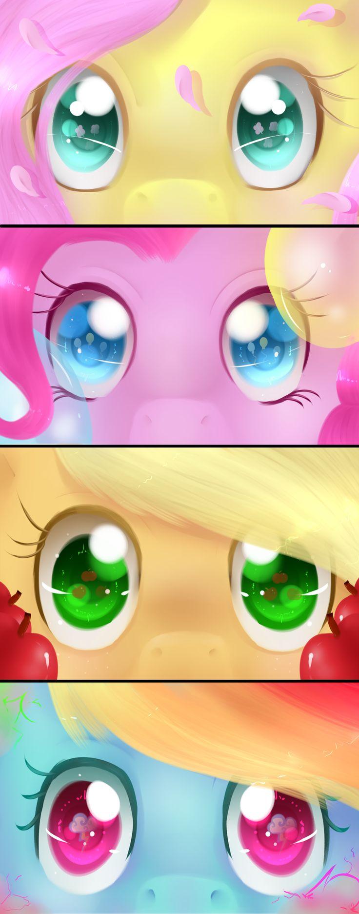 Elements of Harmony Eye set part 1 by Neko-luvz on DeviantArt
