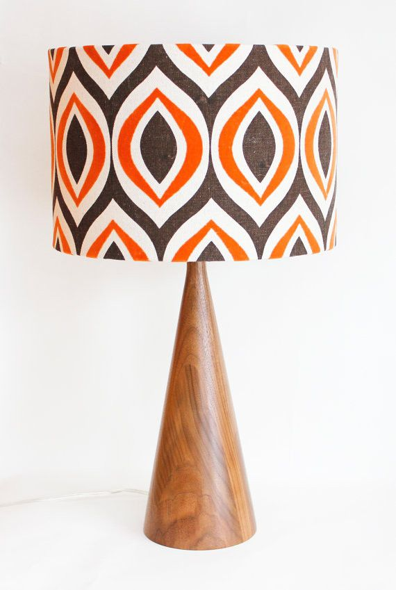 Decorate your home like the set of Mad Men! Check out this lamp from Etsy.