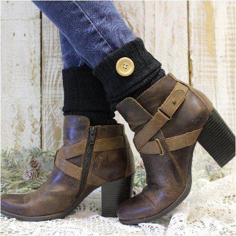 Boot Cuffs - ASPEN - black