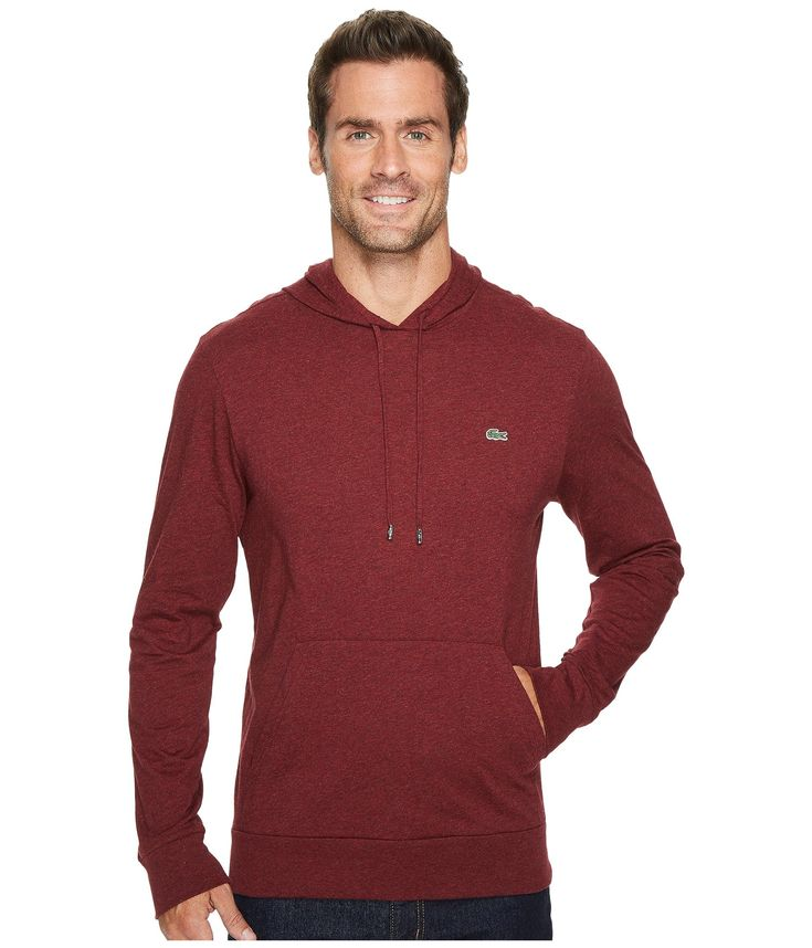 LACOSTE Jersey T-Shirt Hoodie. #lacoste #cloth #