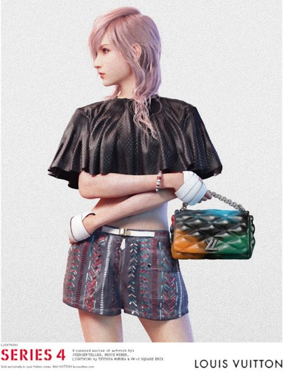LOUIS VUITTON・「SERIES 4」×FINAL FANTASY XIII