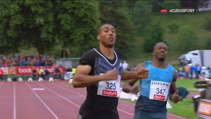 Jimmy Vicaut wins 100m at Spitzen Leichtathletik 2016 HD