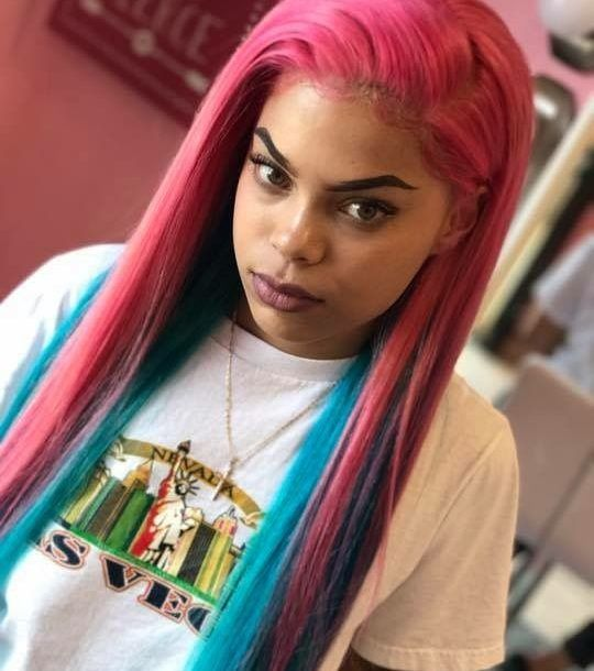 Sew In Hairstyle 657 Best Sew In Hairstyles Images On Pinterest  Black Girls Braid