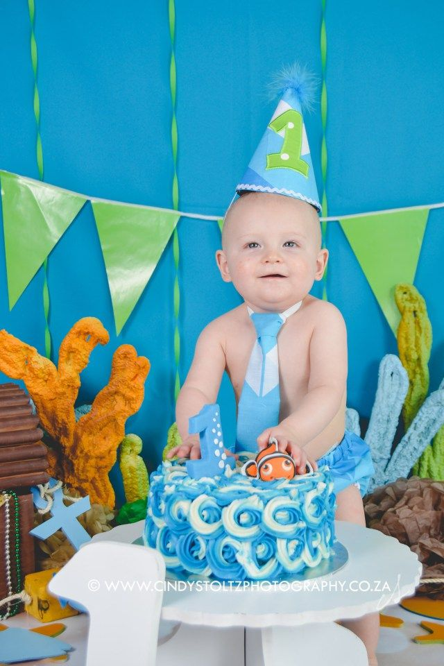 Little Jason was the happiness himself! Such a pleasant baby to work with. Don't you just love the Under the sea/Finding Nemo theme? I think it's going to become very popular. Enjoy the…