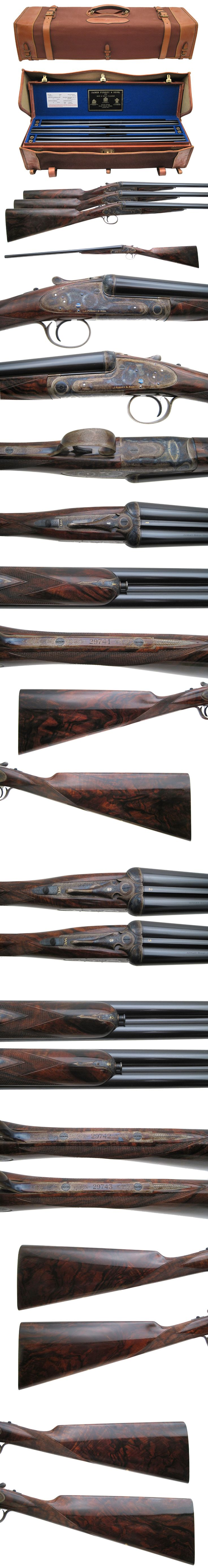 Griffin & Howe - Gun Details Page J. Purdey & Sons - Best Trio Round Actions - 20 ga - $255,000.00 Love the magnum case for fitting all 3 firearms at once. Quite a beast- but a lovely beast!