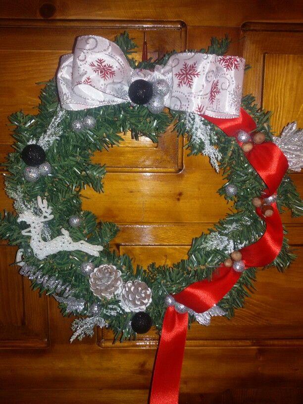 Handmade Christmas whreath