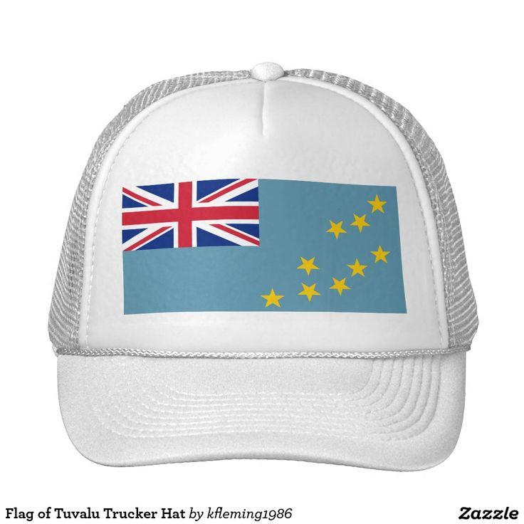 Flag of Tuvalu Trucker Hat