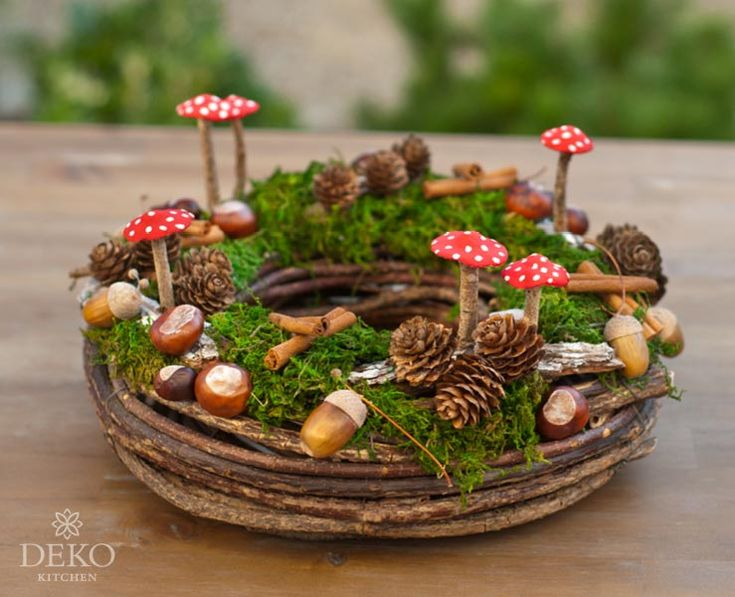 DIY: Herbstdeko mit Naturmaterial Deko-Kitchen – Sigrid Schmidt