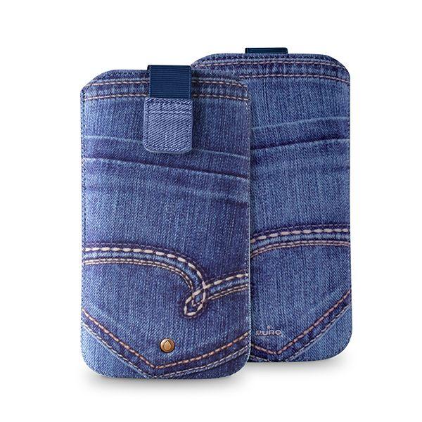 Smartphones Universal Jeans cases #Puro #denim