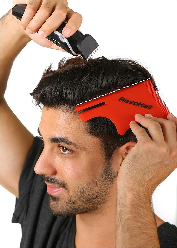 RevoHair Hair Cutting Tool - Multi-Curve Haircut Template/Stencil/Guide For Men and Barbers - Lightweight - With Hair and Beard Comb *** Click image for more details. #hair