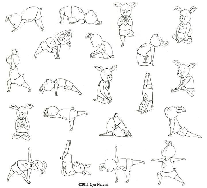 предлагает комплекс упражнений веселые картинки явление, как почернение