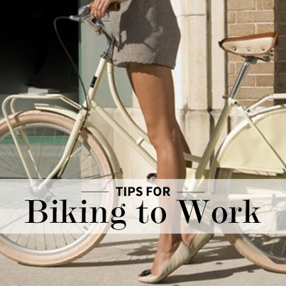 Tips for Biking to Work --  Like Tax Breaks! Who knew?