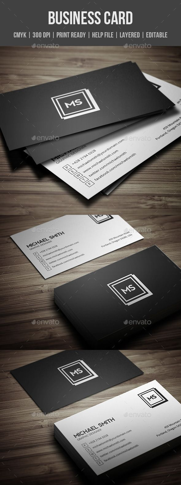 21 best business cards images on pinterest business card design creative business card by be cool featurescmyk colors 300 dpi layered psd files customizable and editable inches with bleeds trim mark print re cheaphphosting Gallery