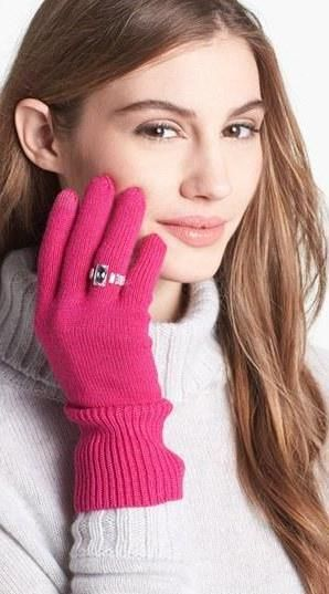 Gloves with a ring!