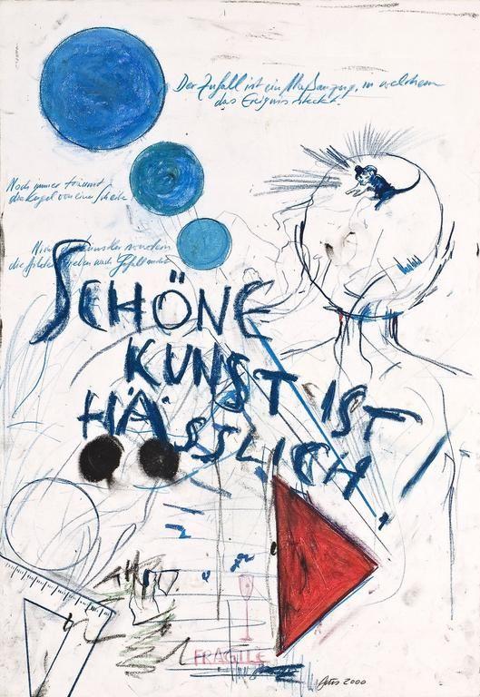 Günther Brus - Schöne Kunst ist hässlich, 2000, GALLERIA MARIE-LAURE FLEISCH   Vienna