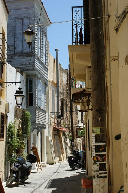 Heraklion City in Crete, Greece