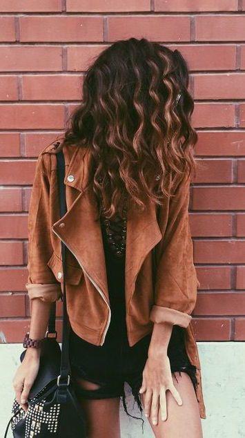 #fall #fashion / camel jacket