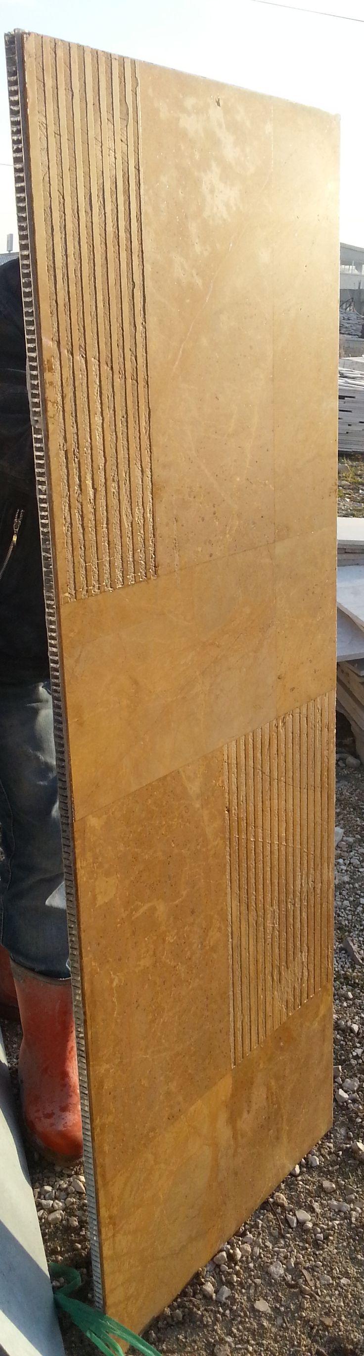 Aluminium honeycomb marble panel