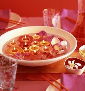 Balinese inspired wedding table